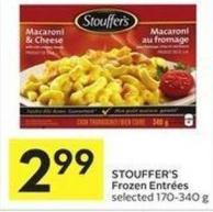 Stouffer's Frozen Entrées Selected 170-340 g
