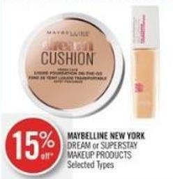 Maybelline New York Dream or Superstay Makeup Products