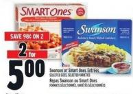 Swanson Or Smart Ones Entrées