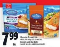 Blue Water Breaded Fish