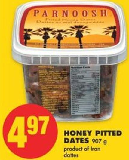 Honey Pitted Dates - 907 g