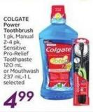 Colgate Power Toothbrush