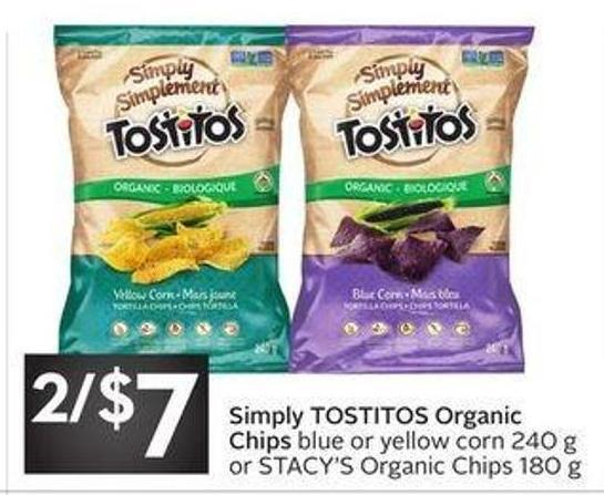 Simply Tostitos Organic Chips