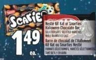 Nestlé Kit Kat Or Smarties Halloween Chocolate Bar
