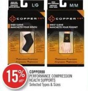 Copper88 Performance Compression Health Supports