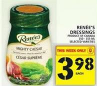 Renée's Dressings