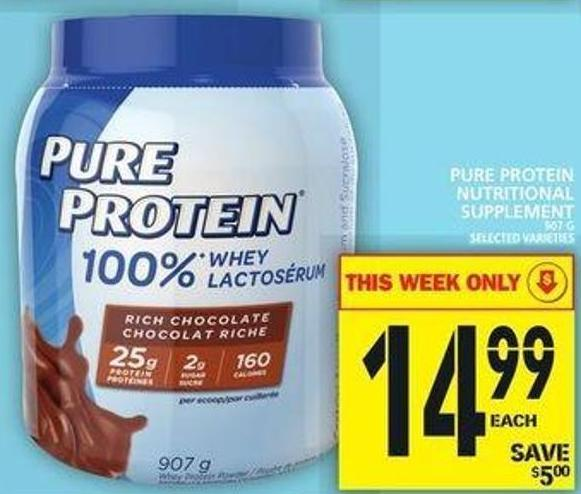 Pure Protein Nutritional Supplement