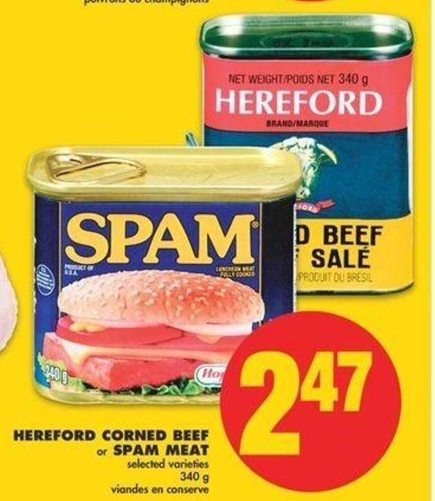 Hormel Classic Spam, 12 oz, 8 ct. Enter your email to receive great offers from Costco Business Delivery.