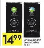 Kicking Horse Ground Coffee 454 g