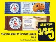 Voortman Wafer or Turnover Cookies 300 g
