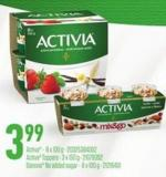 Activa - 8 X 100 G - Activa Toppers - 3 X 150 G - Danone No Added Sugar - 8 X 100 G