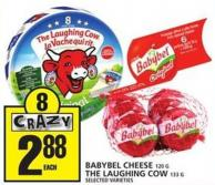Babybel Cheese Or The Laughing Cow