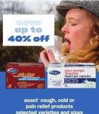 Exact Cough - Cold Or Pain Relief Products