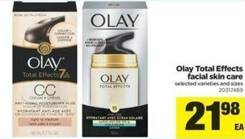 Olay Total Effects Facial Skin Care