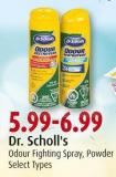 Dr. Scholl's Odour Fighting Spray - Powder
