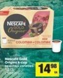Nescafé Gold Origins K-cup - 30 Ct