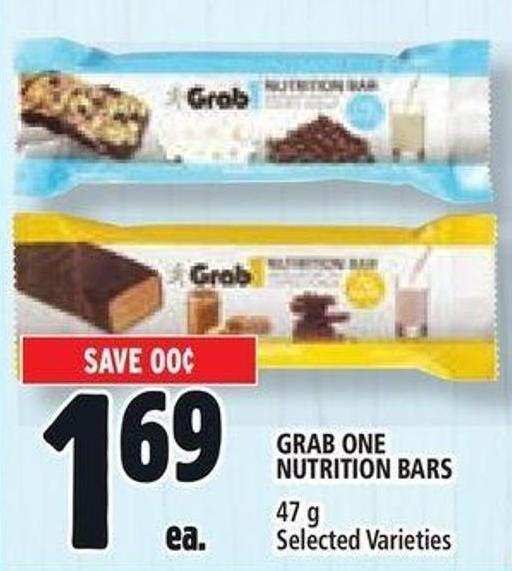 Grab One Nutrition Bars