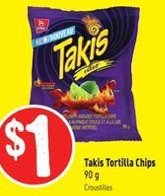 Takis Tortilla Chips 90 g