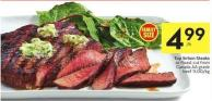 Top Sirloin Steaks or Roast Cut From Canada Aa Grade Beef 11.00/kg
