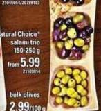 PC Natural Choice Salami Trio - 150-250 g