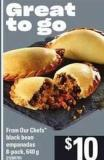 From Our Chefs Black Bean Empanadas 8-pack - 640 G