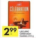 Leclerc Celebration Cookies 240 g