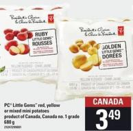 PC Little Gems Red - Yellow Or Mixed Mini Potatoes - 680 g