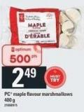 PC Maple Flavour Marshmallows