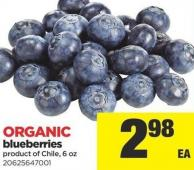 Blueberries - 6 Oz