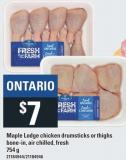 Maple Lodge Chicken Drumsticks Or Thighs - 754 g