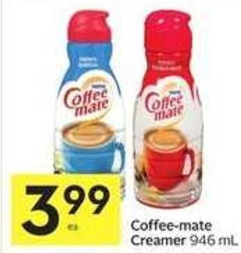 Coffee Mate Creamer 946 ml