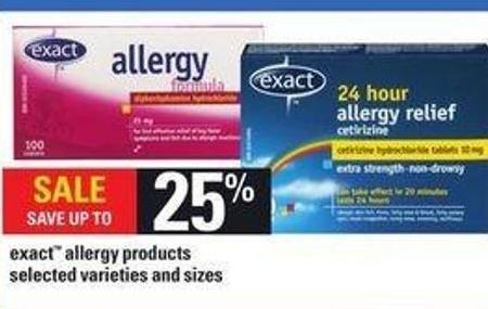 Exact Allergy Products