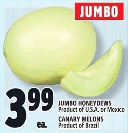 Jumbo Honeydews