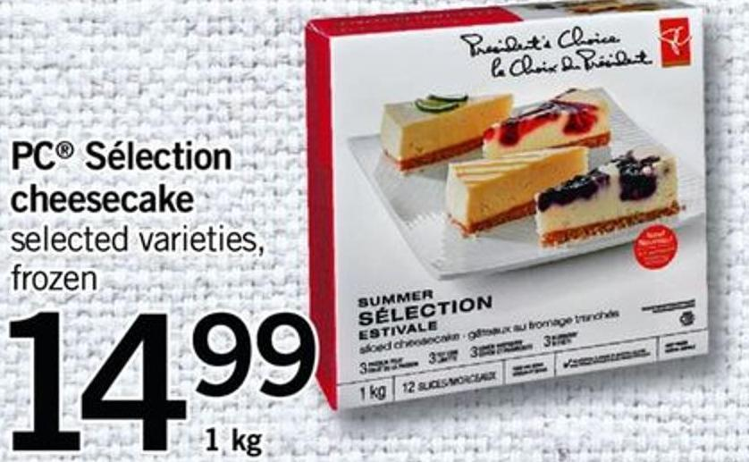 PC Sélection Cheesecake - 1 Kg