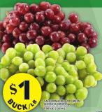 California Red Or Green Seedless Grapes