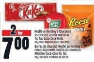 Nestlé Or Hershey's Chocolate