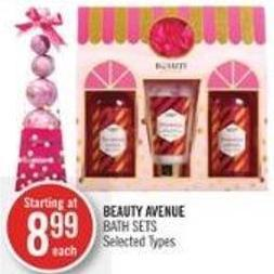Beauty Avenue Bath Sets