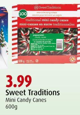 Sweet Traditions Mini Candy Canes 600g