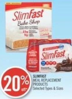 Slimfast Meal Replacement Products