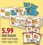 Old Dutch Multi Pack Snacks
