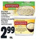Kozy Shack Pudding Snacks