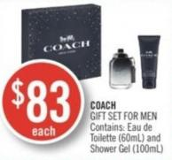 Coach Gift Set For Men