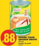 Knorr Clear Chicken Broth - 397 mL