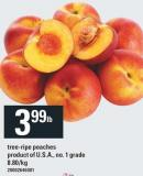 Tree-ripe Peaches