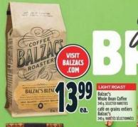 Balzac's Whole Bean Coffee 340 g