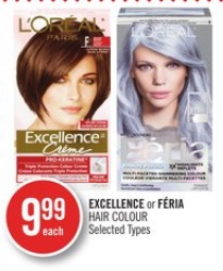 Excellence or Féria Hair Colour