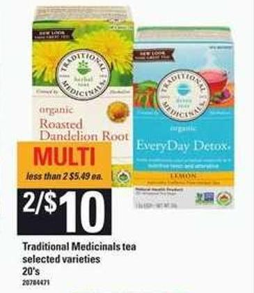 Traditional Medicinals Tea - 20's