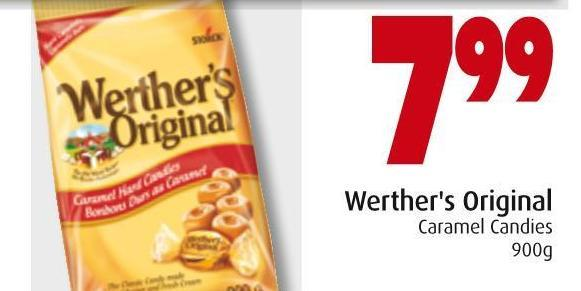 Werther's Original Caramel Candies 900g