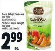 Royal Delight Samosas