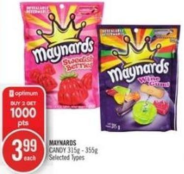 Maynards Candy 315g - 355g